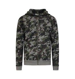 Saint Laurent Paris N/A - Saint Laurent Paris Camouflage Zip-up Hoodie
