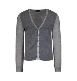 Lanvin Lanvin Grey Cashmere Cardigan