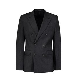 Wooyoungmi N/A - Wooyoungmi Grey Double Breast Blazer