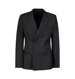 Wooyoungmi NON DISPONIBLE - Wooyoungmi blazer croisé  gris en laine