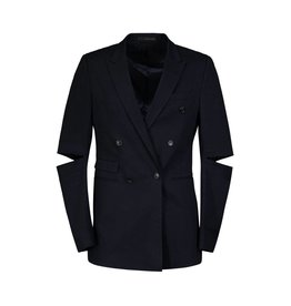 Wooyoungmi N/A - Wooyoungmi Navy Cut Out Blazer