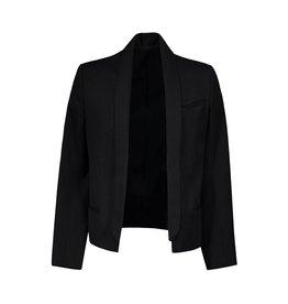 Balmain N/A - Balmain Black Open Tuxedo Blazer