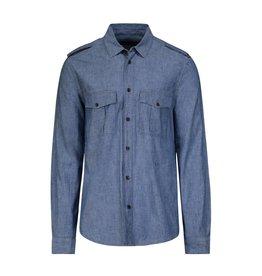 Louis Vuitton NON DISPONIBLE - Louis Vuitton chemise chambray à poches