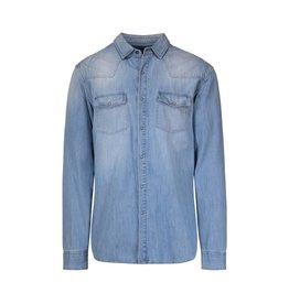 Pierre Balmain Pierre Balmain chemise en denim blue pâle
