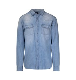 Pierre Balmain Pierre Balmain Denim Pocket Shirt