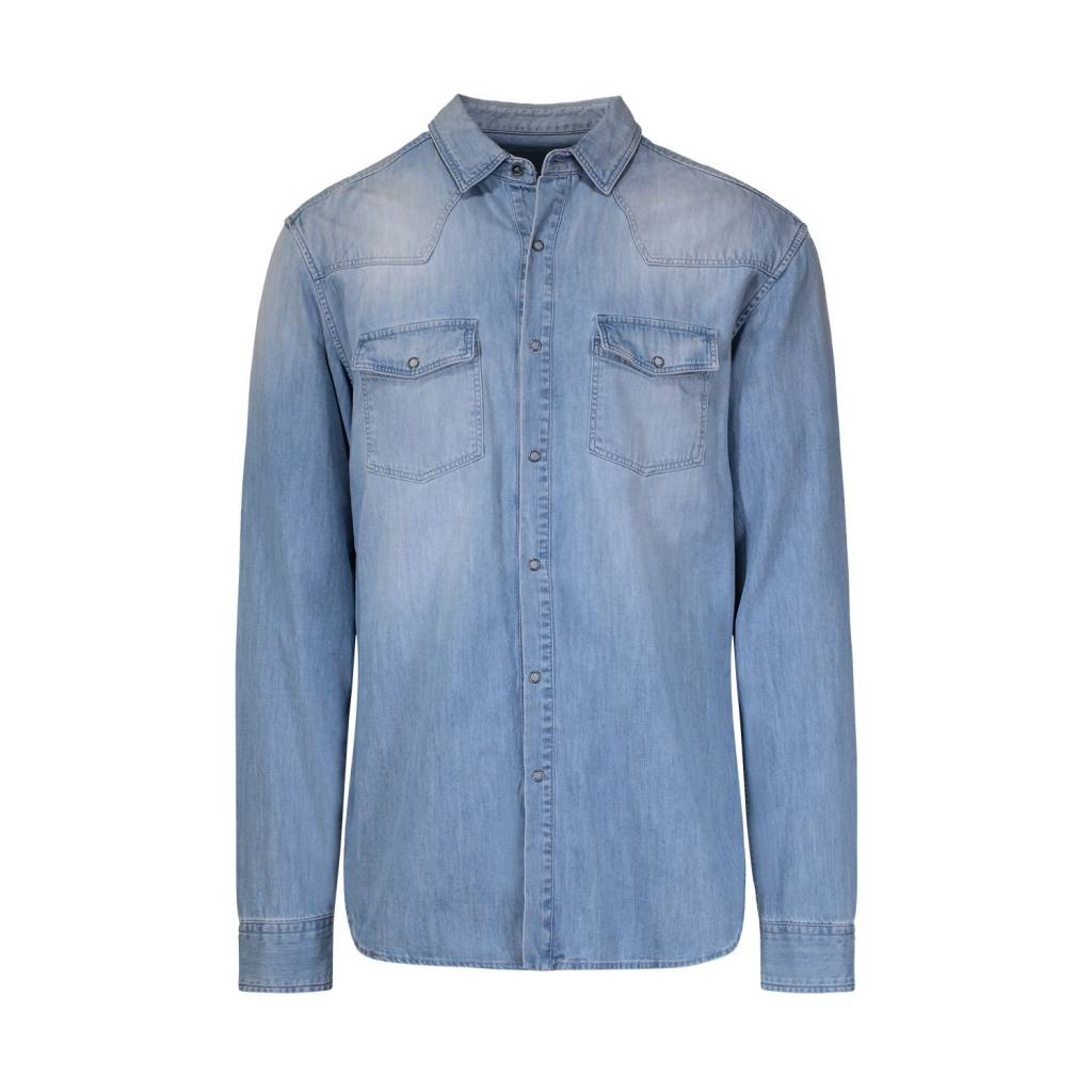 7f8121a501 Pierre Balmain Pierre Balmain Denim Pocket Shirt ...