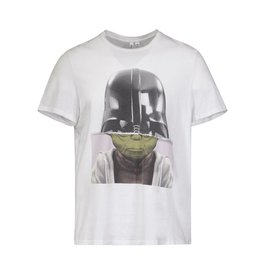 Neil Barrett N/A - Neil Barrett ''Darth Yoda'' White T-shirt