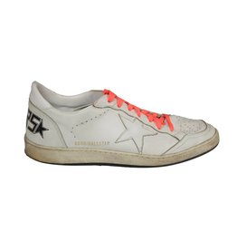 Golden Goose NON DISPONIBLE - Golden Goose baskets blanches Superstar