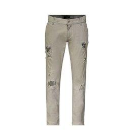 Dolce & Gabbana Dolce & Gabbana jeans gris pâle délavé et effet usé