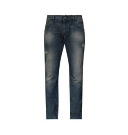 Dolce & Gabbana N/A - Dolce & Gabbana Blue Washed Out Jeans