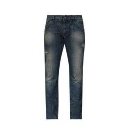 Dolce & Gabbana NON DISPONIBLE - Dolce & Gabbana jeans à effet usé bleu