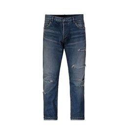 Balmain NON DISPONBLE - Balmain jeans bleu déchiré