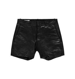 Travis Taddeo Travis Taddeo Leather Shorts