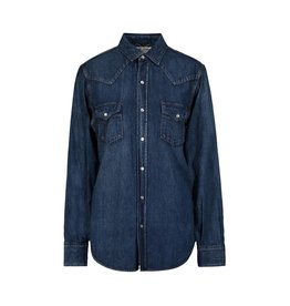 Saint Laurent Paris Saint Laurent Paris chemise en denim western