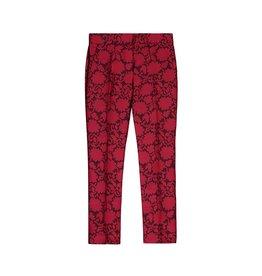 Louis Vuitton Louis Vuitton capri tuxedo rouge et fleurs noires