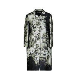 Prada NON DISPONIBLE - Prada Runway vintage manteau à fleurs en soie