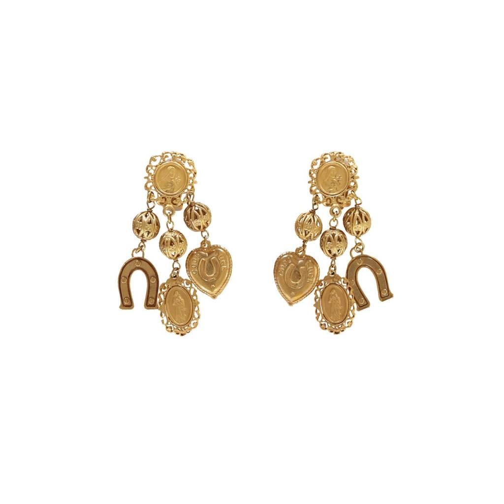 Dolce & Gabbana N/A - Dolce & Gabbana Orecchini Charms Earrings