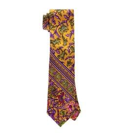 Hermès NON DISPONIBLE - Hermes cravate à motif indien