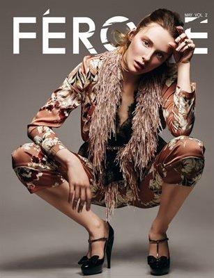 La couverture du magazine Féroce