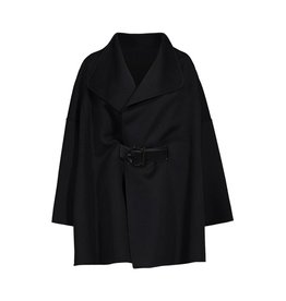 Salvatore Ferragamo N/A - Salvatore Ferregamo Black Cape