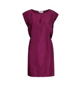 Yves Saint-Laurent Yves Saint Laurent robe fuschia en soie