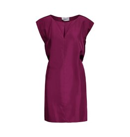 Yves Saint-Laurent Yves Saint Laurent Silk Dress with Gathered Sleeves
