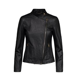 Gucci NON DISPONIBLE - Gucci veste de cuir noir