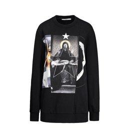 Givenchy N/A - Givenchy Madonna & Shark Print Sweatshirt