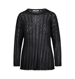 Jil Sander Jil Sander Black Knit Sweater