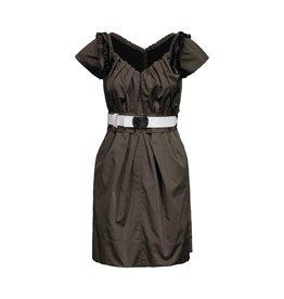 Marc Jacobs NON DISPONIBLE - Marc Jacobs robe kaki avec manche ronde et large à l'épaule