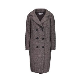 Dolce & Gabbana N/A - Dolce & Gabbana Herringbone Double Breasted Wool Coat