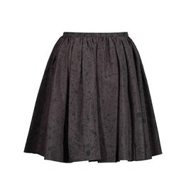 Prada Prada Grey Silk Skirt with Drops Pattern