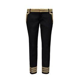Dsquared2 NON DISPONIBLE - Dsquared2 pantalon de laine noir Captain Chic