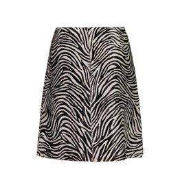 Marni Marni Vintage Zebra Ponyhair Printed Skirt