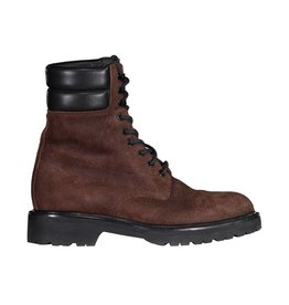 Saint Laurent Paris N/A - Saint-Laurent Brown Suede Combat Boots