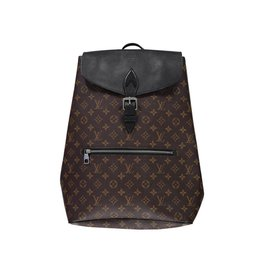 Louis Vuitton N/A - Louis Vuitton Brown Macassar Palk Backpack Monogram