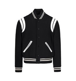 Saint Laurent Paris N/A - Saint-Laurent Black Teddy Bomber Jacket