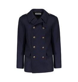Saint Laurent Paris N/A - Saint-Laurent Paris Navy Wool Coat