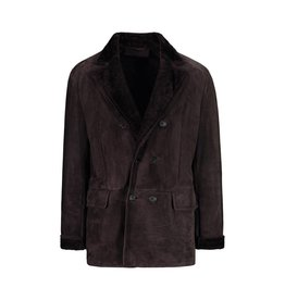 Valentino N/A - Valentino Brown Shearling Coat