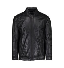 Versace Versace Collection Black Leather Biker Jacket