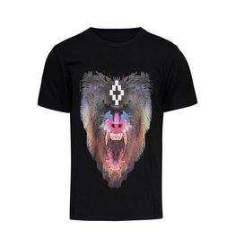 Marcelo Burlon NON DISPONIBLE - Marcelo Burlon t-shirt noir avec singe imprimé