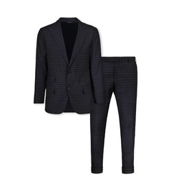 Tom Ford Tom Ford Checkered Charcoal Suit