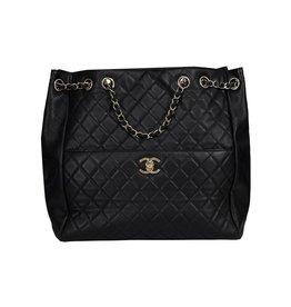 Chanel NON DISPONIBLE - Chanel sac à l'épaule matelassé avec chaîne coulissante