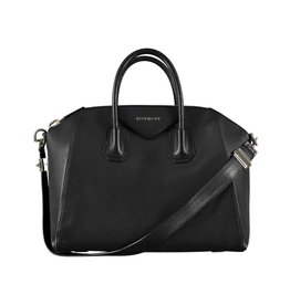 Givenchy NON DISPONIBLE - Givenchy sac noir moyen Sugar Antigona