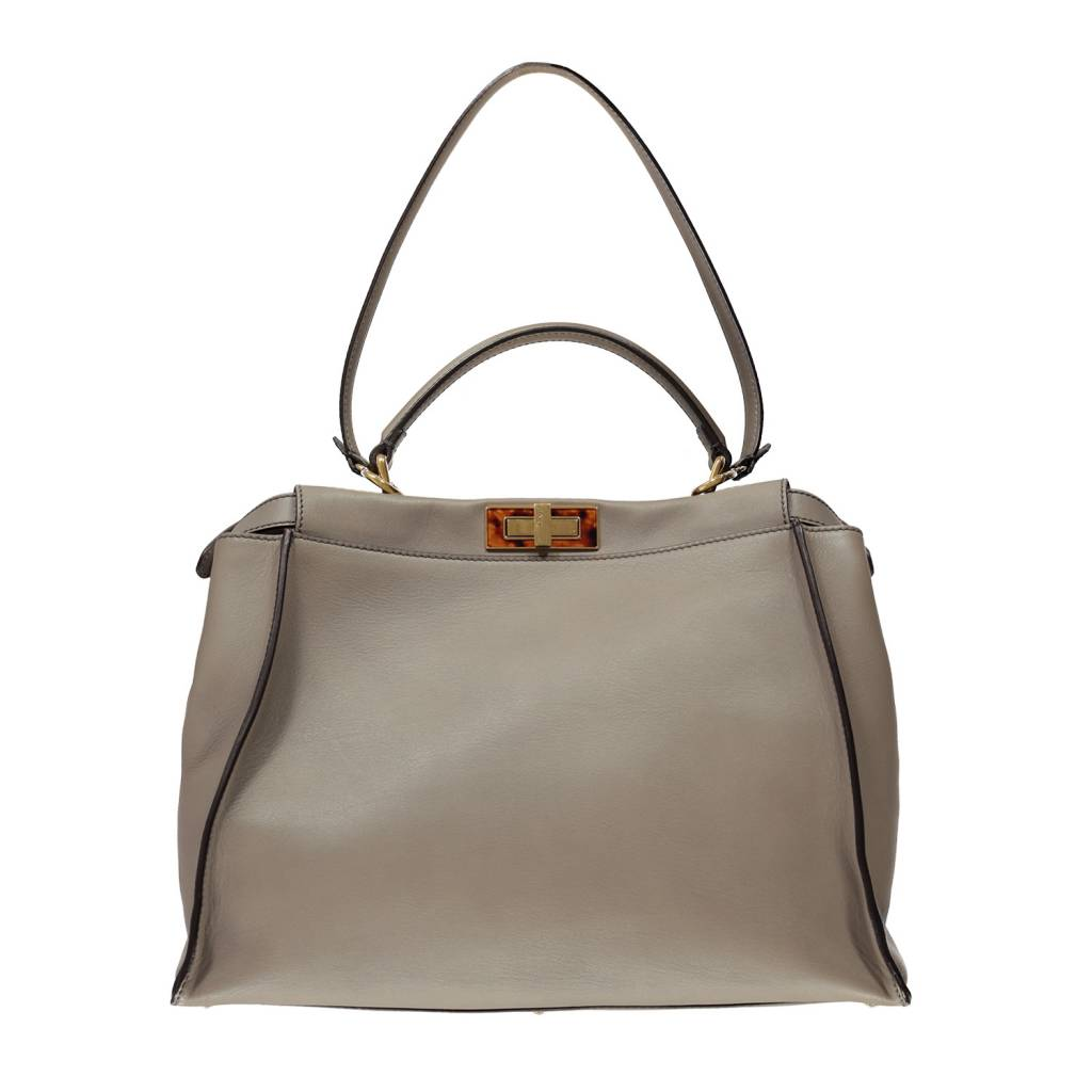 Peekaboo Main Luc Boutique Sac Vitello s Grand Fendi À NwZ0knOP8X