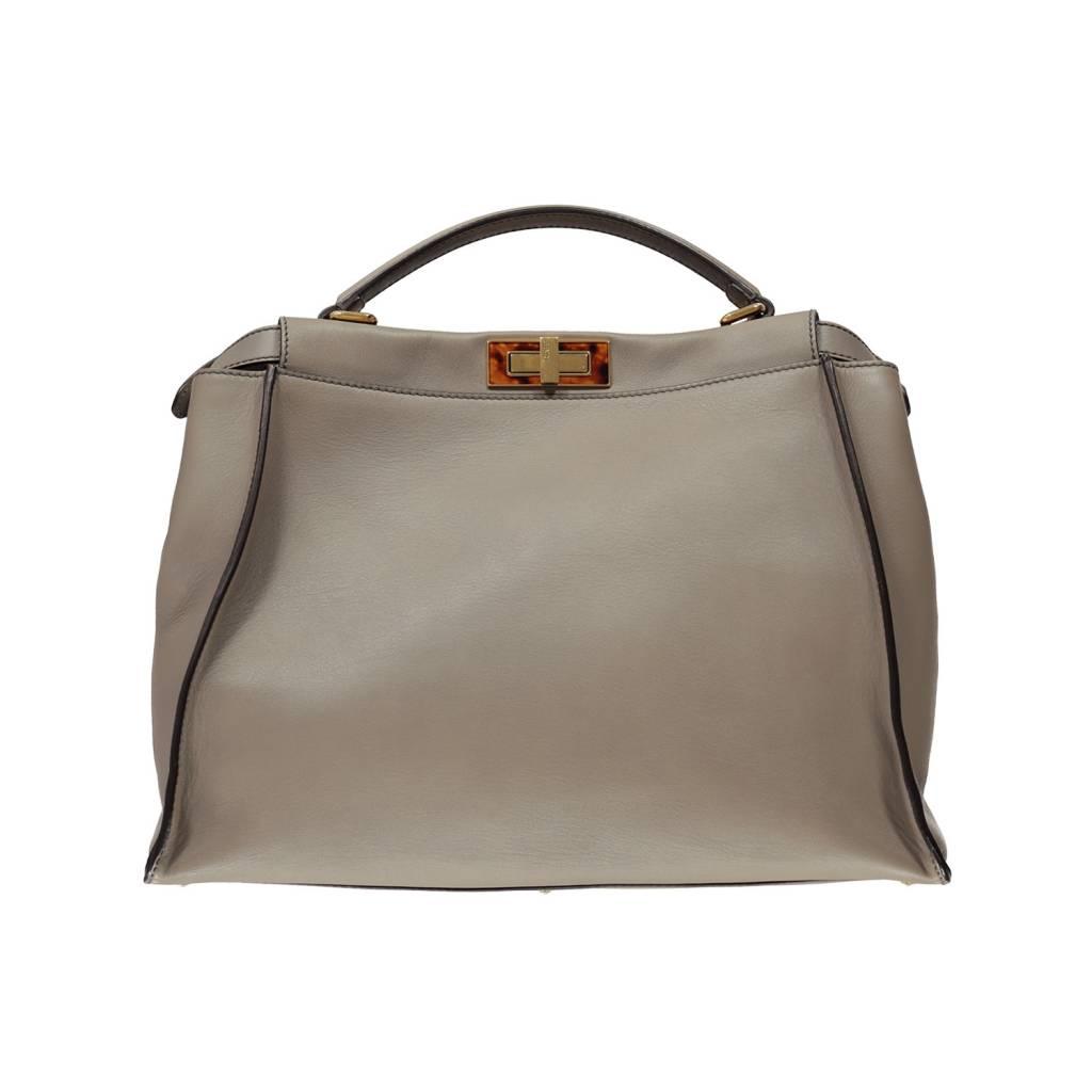 Fendi grand sac à main Peekaboo Vitello - Boutique LUC.S fa83fe87b05