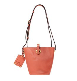 "Valentino N/A - Valentino Pink ""Eye On You"" Bucket Bag"