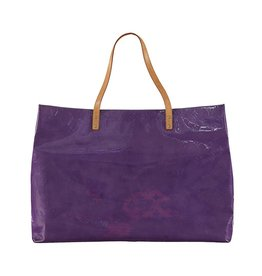 Louis Vuitton N/A - Louis Vuitton Vernis Reade GM Grape Tote