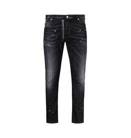 Dsquared2 N/A - Dsquared2 Black M.B Shot Jeans With Zipper Detail
