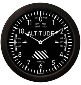Trintec Classic Altimeter Clock 14 inch 9060-14